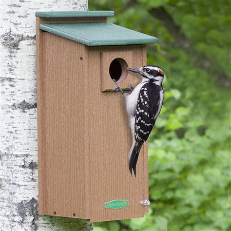 duncraft com duncraft three woodpecker house