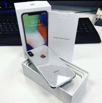 apple iphone  silver  gb myset nego secondhandmy