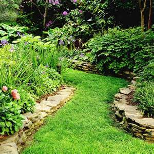 Rock Garden Border Sure Fit Slipcovers Enhance Your Outdoor Living Space With A Unique Walkway