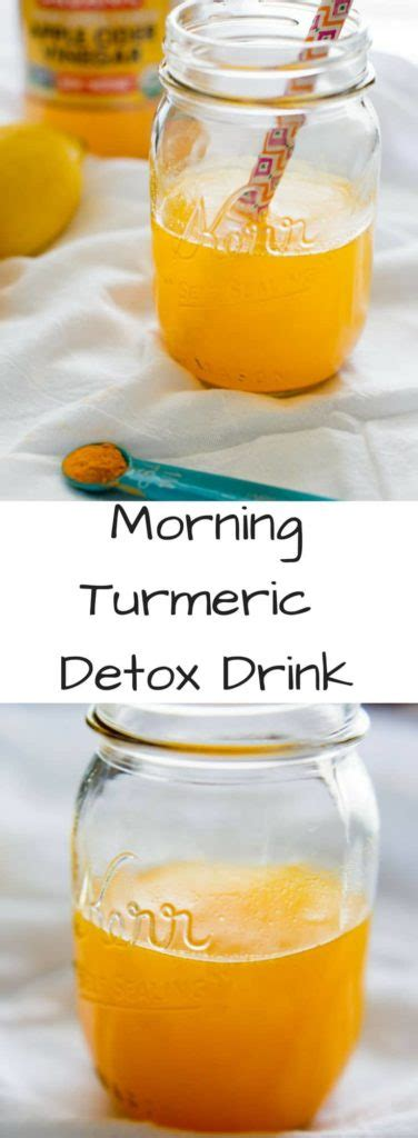 Morning Detox Tea Apple Cider Vinegar by Morning Turmeric Detox Drink Kickstart Your Day With