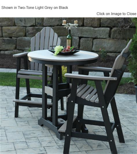 composite outdoor furniture amish outdoor poly furniture amish gcrc2135 cozi back bar dining deck chair outdoorpolyfurniture