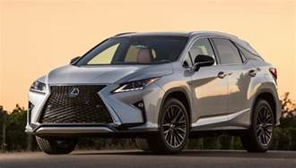 spin 2016 lexus rx 350 rx 450h hybrid the daily