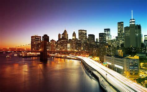 wallpapers hd new york city manhattan bridge