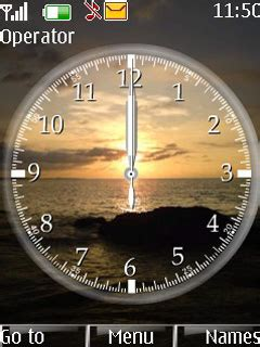 clock themes wap in download clock time nokia theme mobile toones