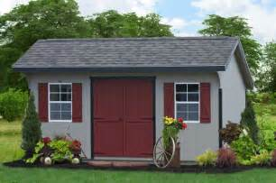 Garage Organization York Pa 10x16 Saltbox Classic Storage Shed From Pa Traditional
