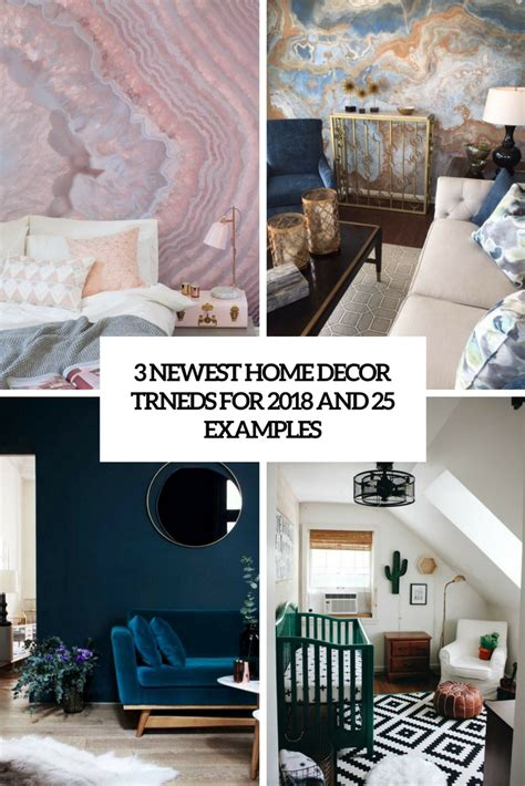 home interior wall 2018 3 newest home decor trends for 2018 and 25 exles digsdigs