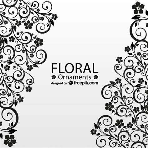 corner template designs antique floral greeting card vector template 123freevectors