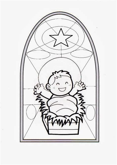 imagenes de jesus bebe para colorear parroquia la inmaculada l 225 minas para colorear ni 241 o jes 250 s