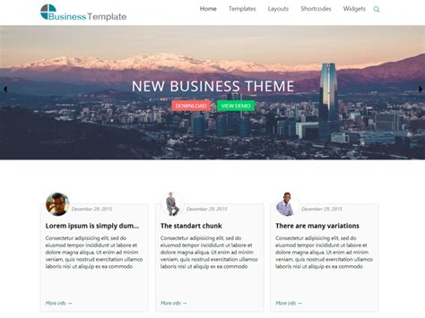 The Best Of Business 47 of the best free themes for business in 2016