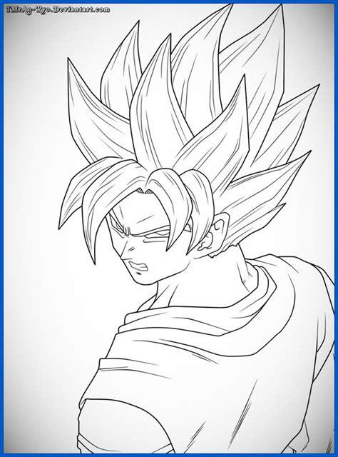 imagenes de goku a color para dibujar geniales imagenes de dragon ball z para dibujar de goku
