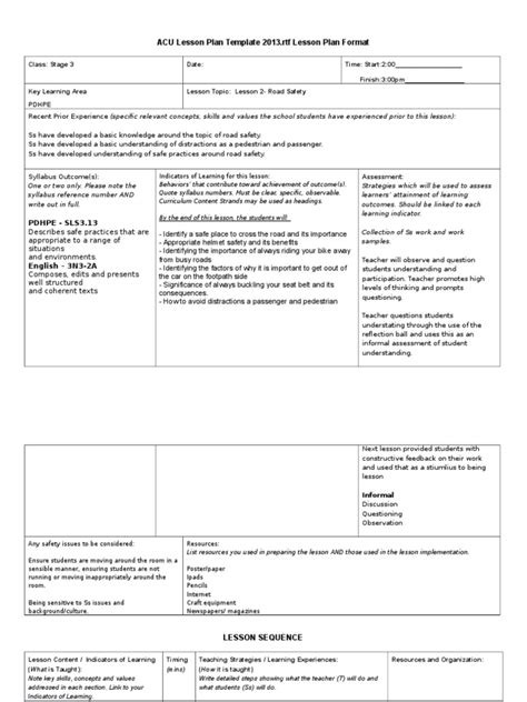 cooperative learning lesson plan template lesson plan template summer c lesson plan