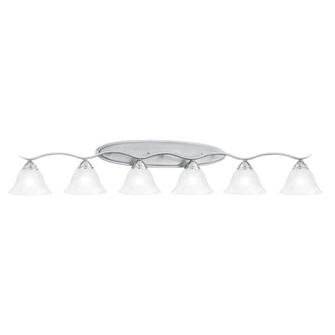 6 light bathroom vanity lighting fixture enlarged image