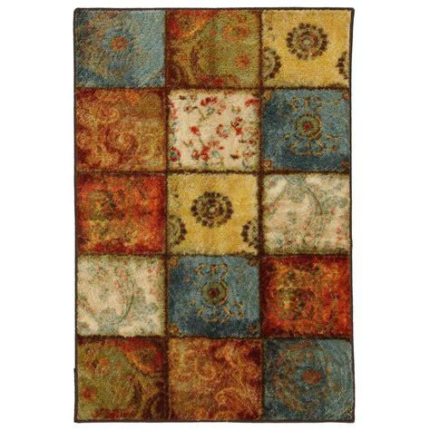 mohawk home rainbow multi 6 ft x 9 ft area rug 512712 mohawk home artifact panel multi 2 ft 6 in x 3 ft 10 in