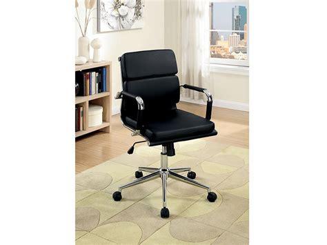 Bk Furniture by Furniture Of America Mercedes Cm Fc636s Bk Office Chair
