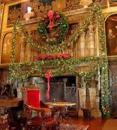 Christmas Homes Decorated Inside Hearst Castle Pictures Christmas Images
