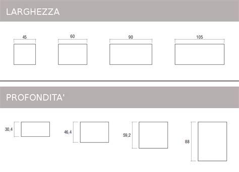 misure comodini mobili doimo cityline misure e componibilit 224