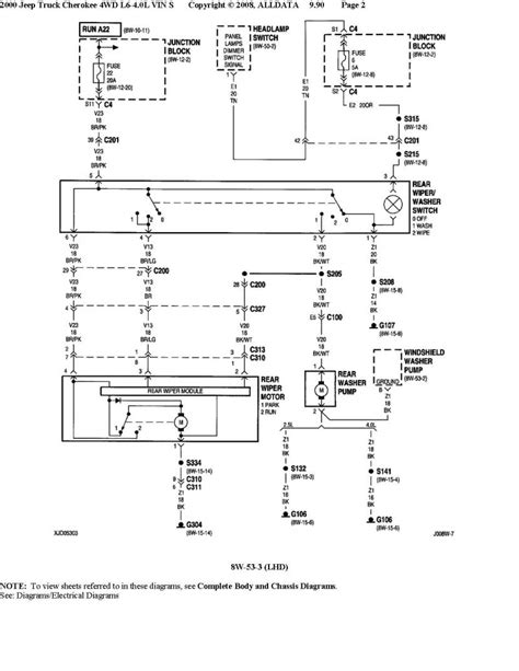 28 2004 jeep wrangler wiper wiring diagram