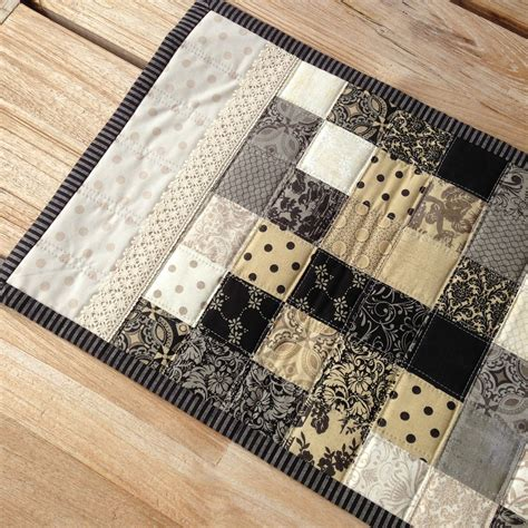 Moda Black Dress Quilt Pattern by 180 S Quilt A New Table Runner