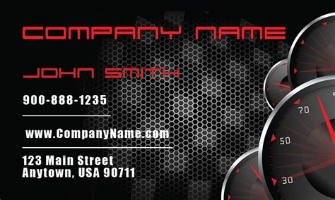 auto business card templates free automotive business cards templates auto dealers designs