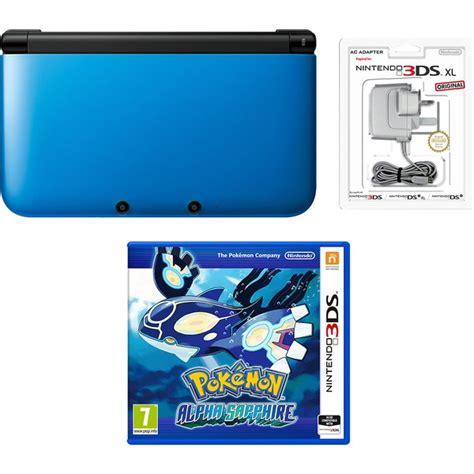 Kaset 3ds Alpha Sapphire Nintendo 3ds Xl Blue Black Pok 233 Mon Alpha Sapphire Pack Nintendo Uk Store