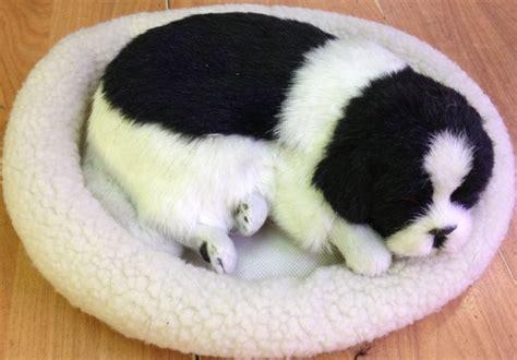 puppy that looks real supply simulation animal doll sleeping fur animal handicraft breathing