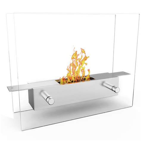Portable Bio Ethanol Fireplace by Elite Lyon Portable Tabletop Ventless Bio Ethanol