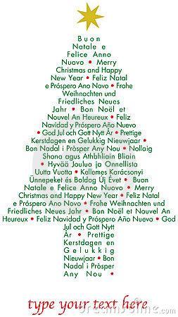 christmas  tree   languages royalty  stock photography image