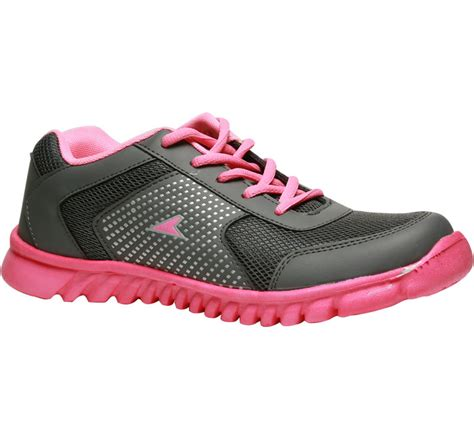 power pink sports shoes for