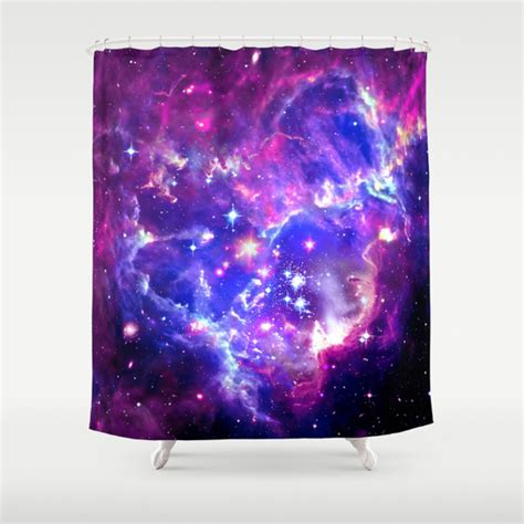 galaxy shower curtain galaxy shower curtain by matt borchert society6
