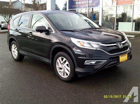 honda crv 2015 ex 2015 honda cr v ex l awd ex l 4dr suv for sale in everett