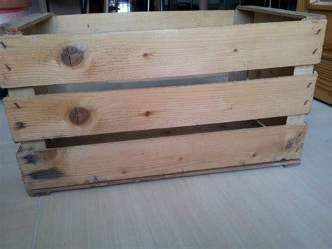 cassetta di legno cassetta di legno shabby chic fai da te