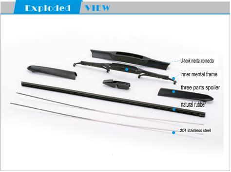 Toyota Fortuner Wiper Valeo Flat Blade Quality 20 22 guangzhou carall wiper blade t170 whisk wiper abs hybrid windshield wiper blades buy gozluk