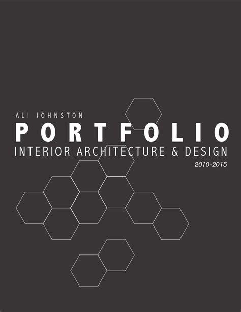 ali johnston portfolio  interior architecture design