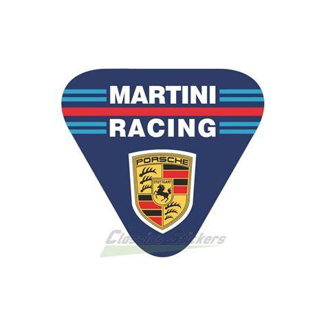 porsche martini logo porsche martini classics stickers