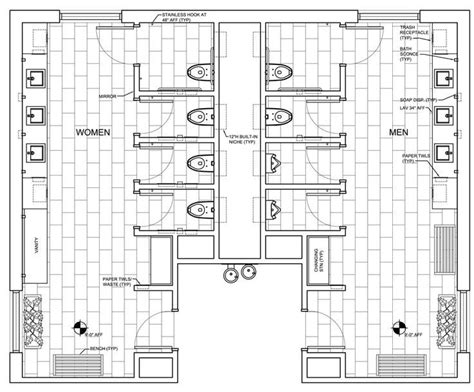 restroom floor plan 25 best ideas about bathrooms on