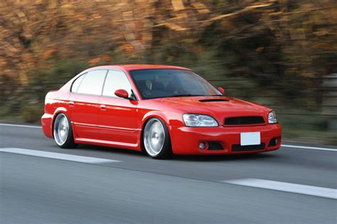 Subaru Legacy Red Rides Styling