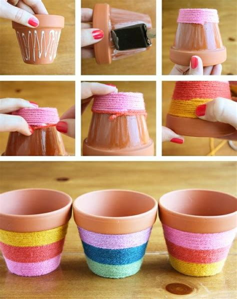 how to decorate a pot at home diy d 233 co de table mariage total 30 eur
