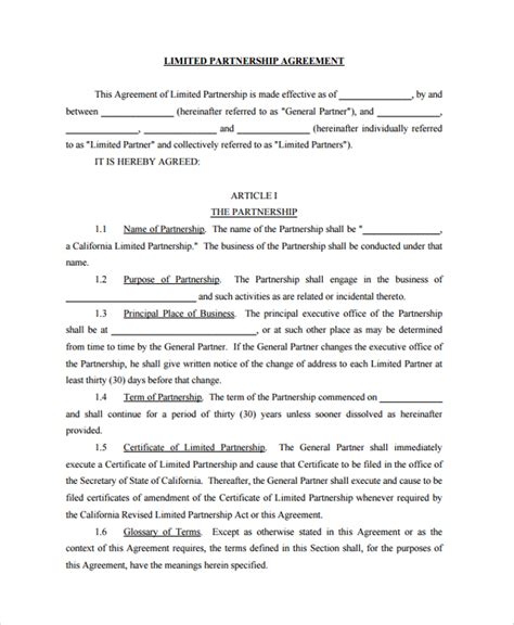 dissolution of partnership agreement template sle business dissolution agreement template 6 free