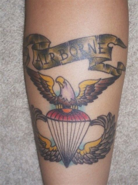 101st airborne tattoo designs 1000 images about tatoos on parachutes