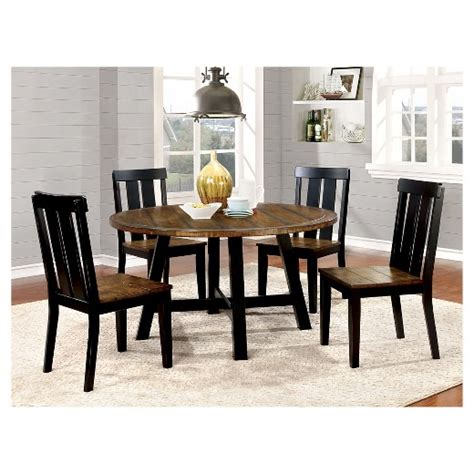oak and black dining table sun pine carey plank style dining table antique