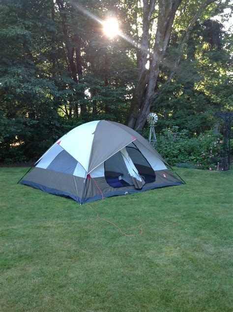 tent backyard cing backyard style momsasaurus