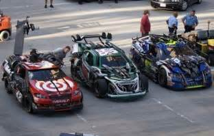 transformers new cars who are those nascar cars in the new transformers