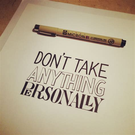 Personally by Hand Lettering Of Four Agreements Hand Lettering By Seanwes