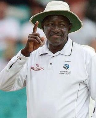 bucknor holds the record for the most test matches umpired