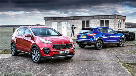 Kia Sportage Review Top Gear Test Kia Sportage Vs Nissan Qashqai Top Gear