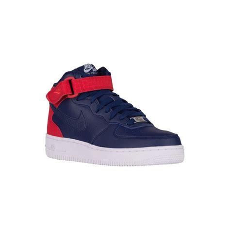 nike air womens basketball shoes blue nike air 1 nike air 1 07 mid s