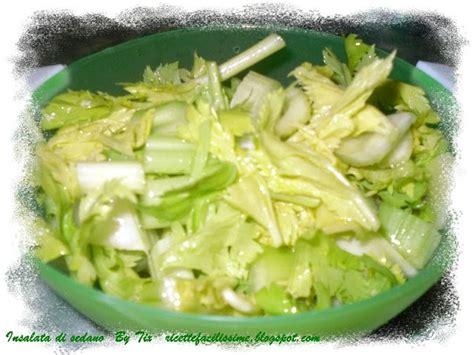 sedano in insalata ricettefacili insalata di sedano