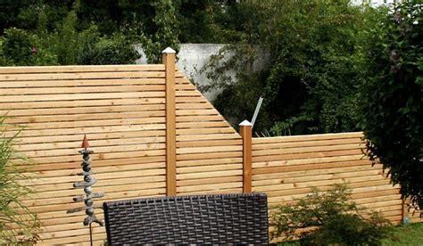 Sichtschutzzaun Holz G Nstig 157 by Sichtschutz Bei Meingartenversand De Kaufen
