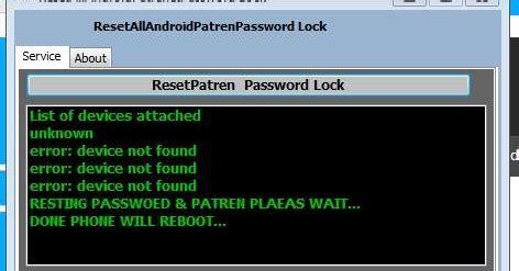 design pattern password reset all android pattern pin password lock reset tool 100