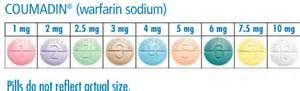 warfarin tablet colors buy coumadin warfarin